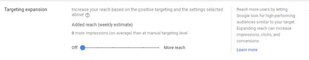 target-expansion